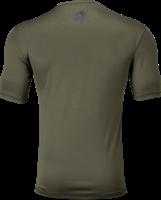 Branson T-shirt - Legergroen/Zwart-2