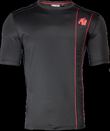 Branson T-shirt - Zwart/Rood - 3XL