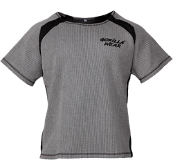 Augustine Old School Work Out Top - Gray
