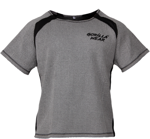 Augustine Old School Workout Top - Gray