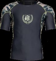 Cypress Rashguard Short Sleeves - Army Green Camo