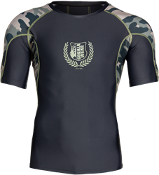 cb8cda9c313 NEW Cypress Rashguard Short Sleeves - Army Green Camo