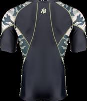 Cypress Rashguard Short Sleeves - Army Green Camo-2