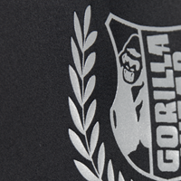 Cypress Rashguard Short Sleeve Black Gray Camo - Detail