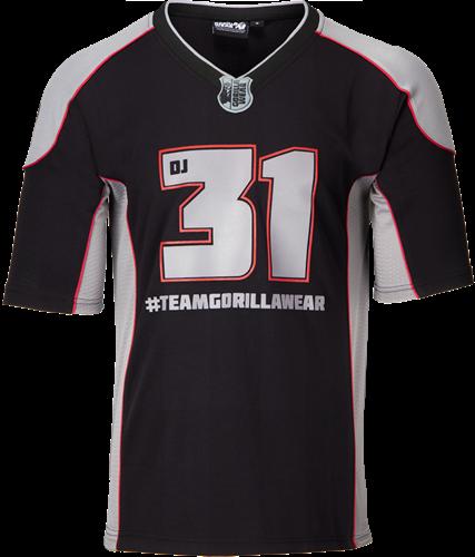 Atleet T-shirt 2.0 Dennis James - Zwart/Grijs
