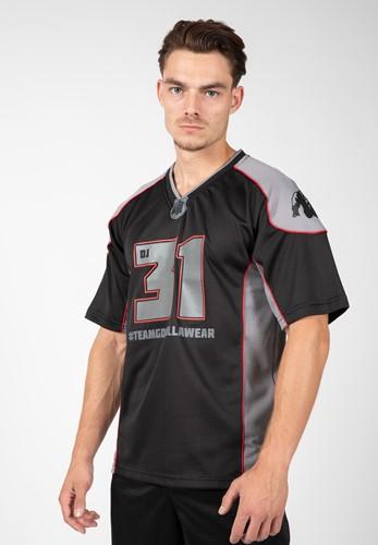 Athlete T-shirt 2.0 - Dennis James - Black/Gray