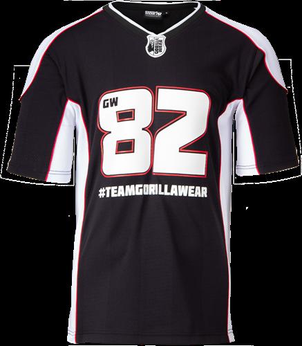 Athlete T-shirt 2.0 - Gorilla Wear - Black/White