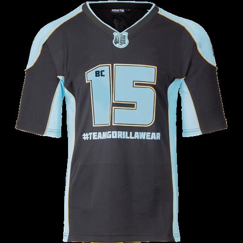 Atleet T-shirt 2.0 Brandon Curry - Zwart/Lichtblauw