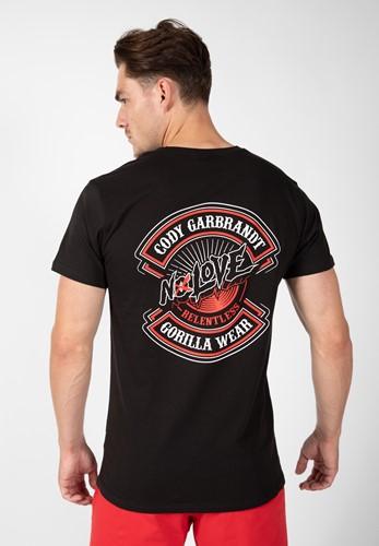 Cody T-shirt - Zwart - L