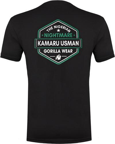 Kamaru Usman T-shirt - Black