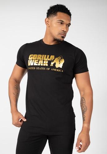 Classic T-shirt - Zwart/Goud
