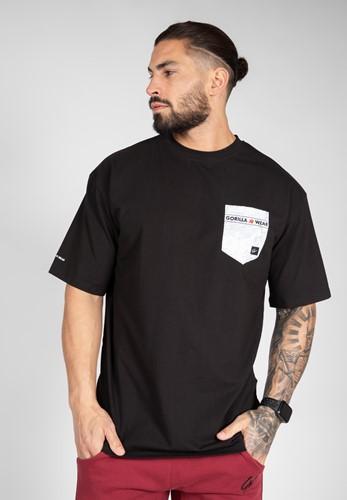 Dover Oversized T-Shirt - Zwart