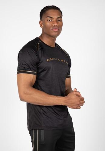 Fremont T-Shirt - Zwart/Goud