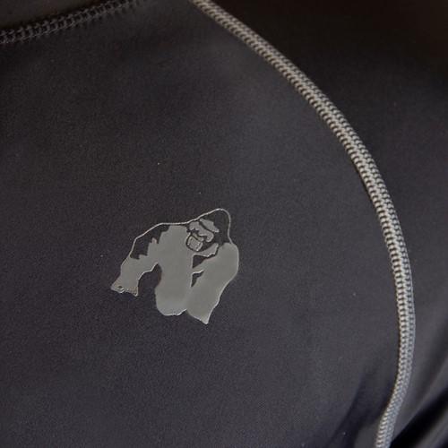 Hayden Compression Longsleeve - Black/Gray - Detail