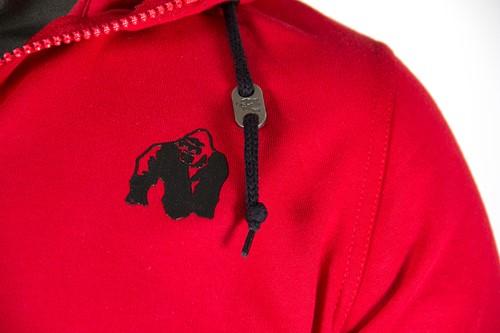 Classic Zipped Hoodie - Rood-3