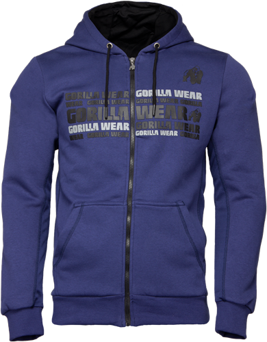 Bowie Mesh Vest - Marineblauw - S