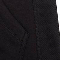 Bowie Mesh Zipped Hoodie - Black - Detail