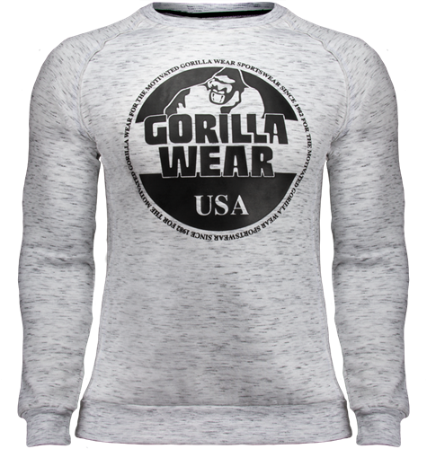 Bloomington Sweatshirt - Grijs Gemêleerd
