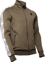 Wellington Track Jacket - Olive Green-3