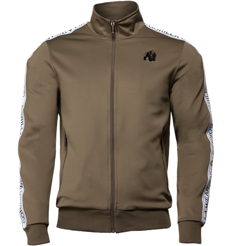 Wellington Track Jacket - Olijfgroen