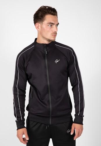 Wenden Track Jacket - Black/White