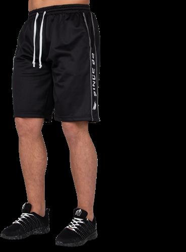 Functional Mesh Shorts - Zwart/Wit