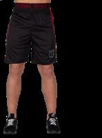 Shelby Shorts - Zwart/Rood-3