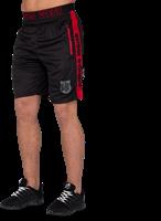 Shelby Shorts - Zwart/Rood