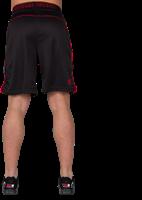 Shelby Shorts - Zwart/Rood-2