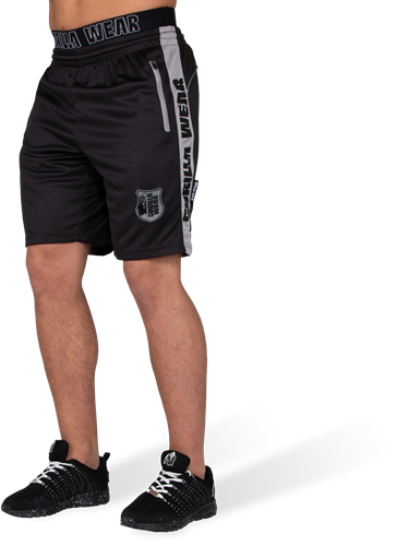 Shelby Shorts - Black/Gray