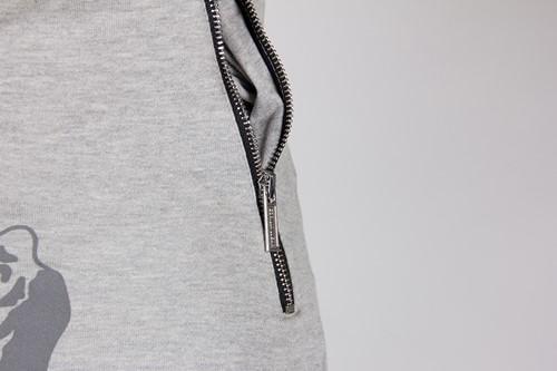 Alabama Drop Crotch Joggers - Gray - Detail