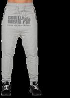 Alabama Drop Crotch Joggingsbroek - Grijs-2