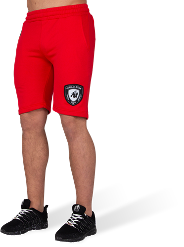 Los Angeles Sweat Shorts - Rood