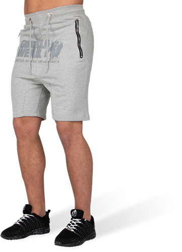 Alabama Drop Crotch Shorts - Gray