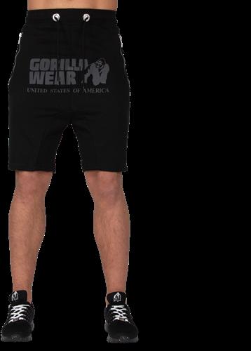 Alabama Drop Crotch Shorts - Zwart-2