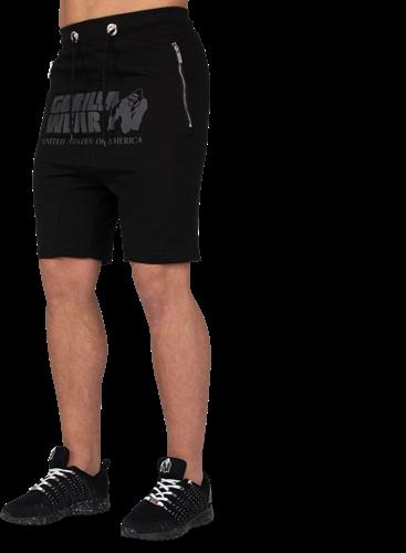 Alabama Drop Crotch Shorts - Zwart-S