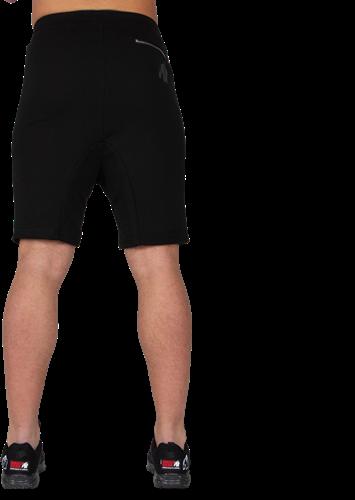 Alabama Drop Crotch Shorts - Zwart-3