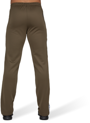 Wellington Track Pants - Olive Green-2