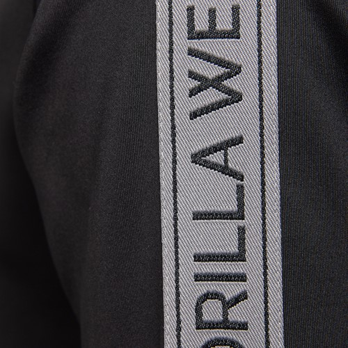 Wellington Track Jacket - Black - Detail