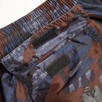 Bailey Shorts - Blue Camo - Detail