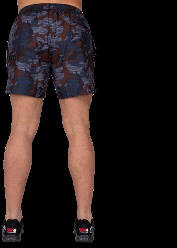 Bailey Shorts - Blauw Camo-2