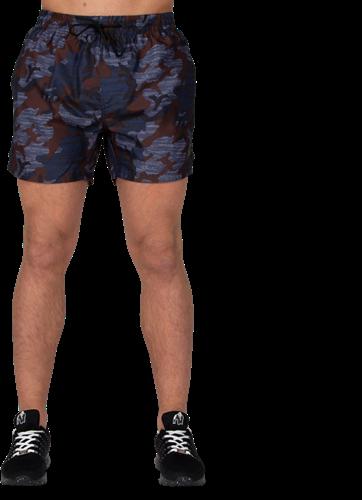 Bailey Shorts - Blauw Camo-3