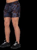 Bailey Shorts - Blauw Camo