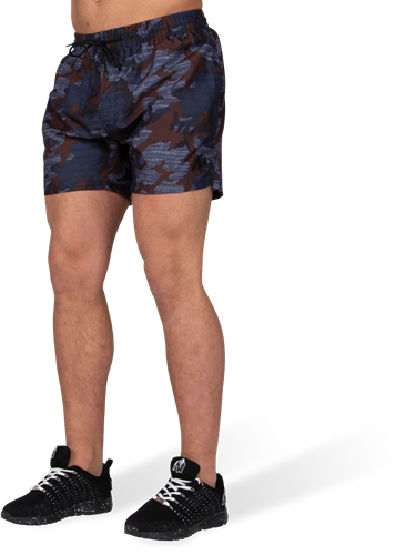 Bailey Shorts - Blauw Camo