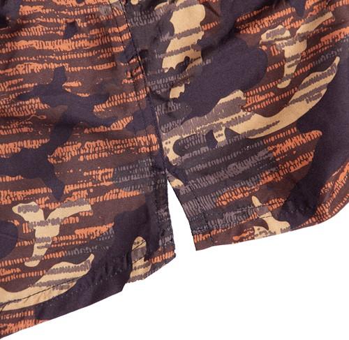 Bailey Shorts - Brown Camo - Detail