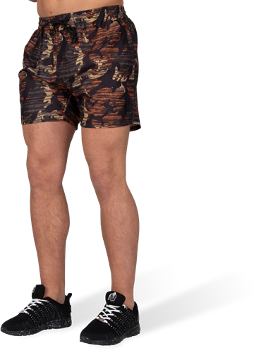 Bailey Shorts - Brown Camo