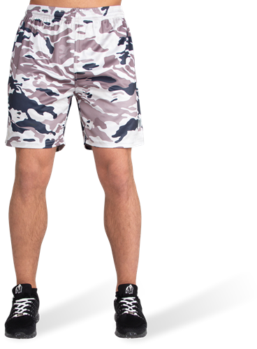 Kansas Shorts - Beige Camo