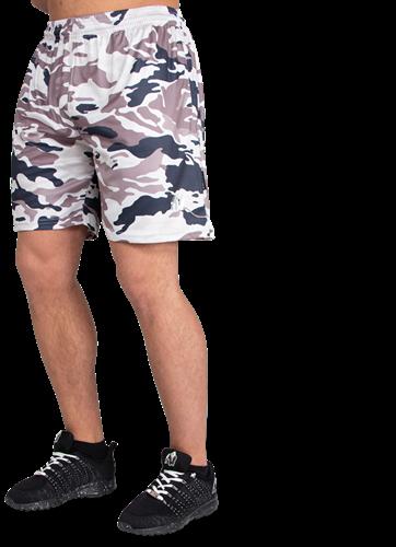 Kansas Shorts - Beige Camo-4XL