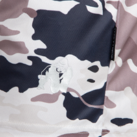 Kansas shorts beige camo close up