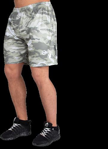 Kansas Shorts - Army Green Camo-4XL